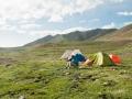 Mt. Amnye Machen trek and tents