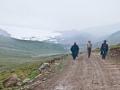 Amnye Machen trek route