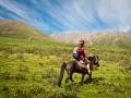 horse back trek in Tibet