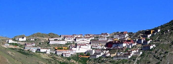 Ganden Monastery in Lhasa
