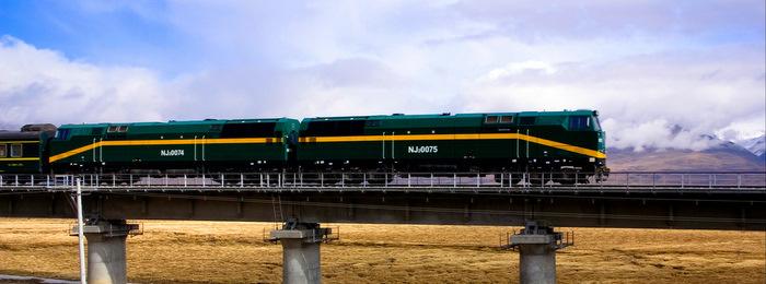 The Qinghai-Tibet Train