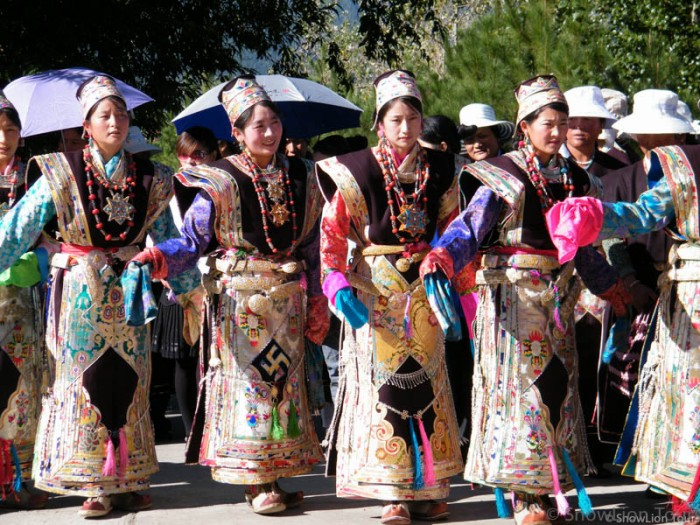 tibet girls in east tibet
