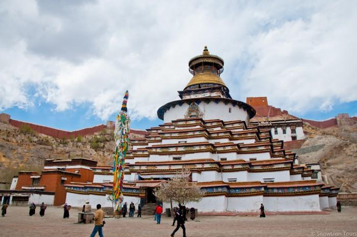 Gyantse Kumbum Stupa in Tibet
