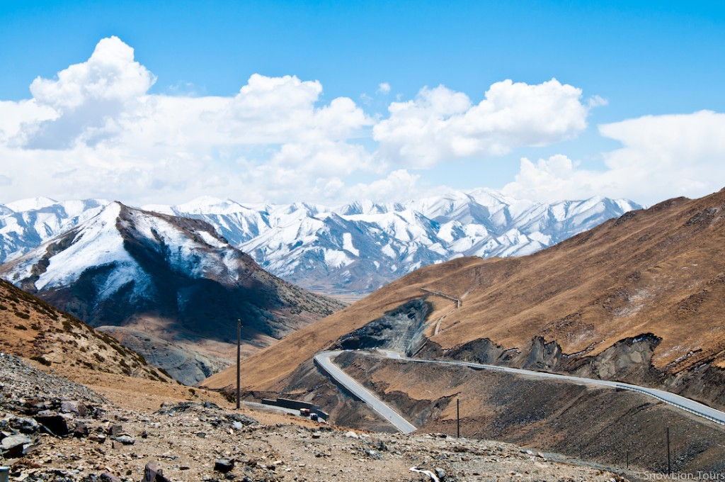 Himalayan range in Tibet