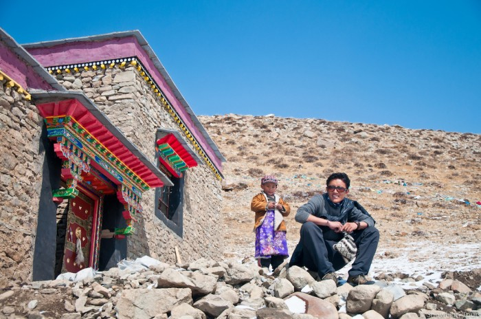 Our guide in the Seralung monastery near South Face of Mt. Kailash