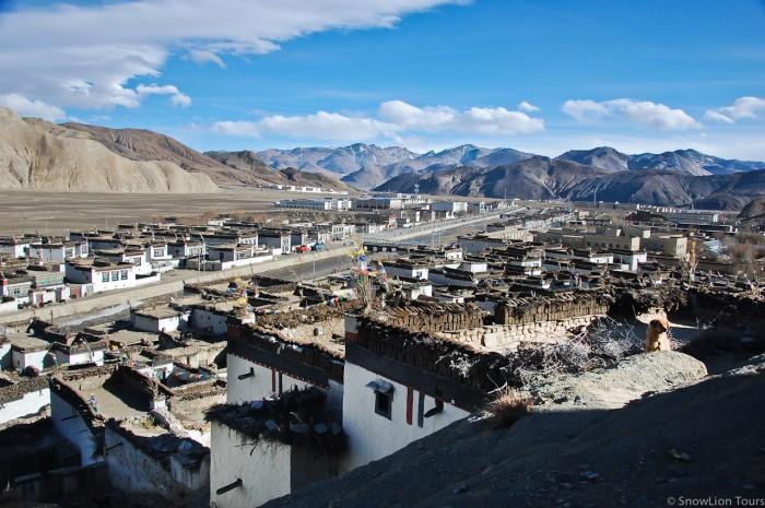 Shegar or Barber near Mt.Everest in Tibet