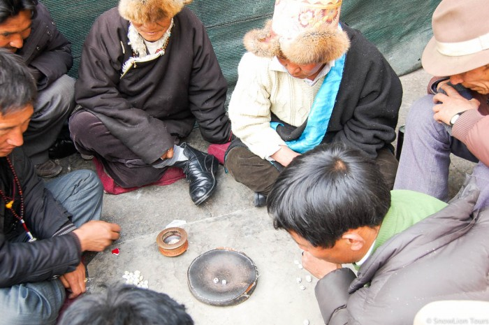 Lhasa Local game Shol
