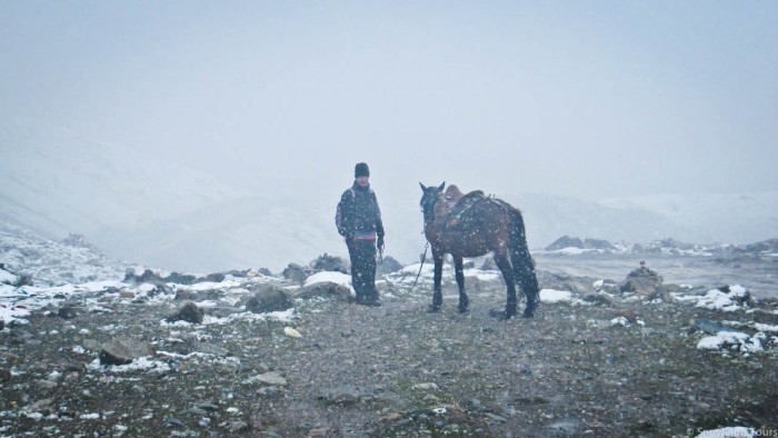 Mt.Amnye Machen horse back trek