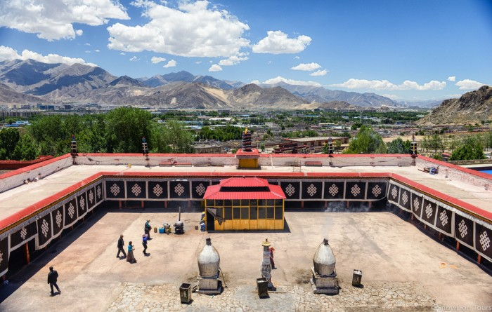 Nechung Temple in Lhasa