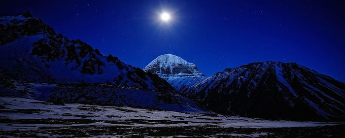 Mt. Kailash fullmoon