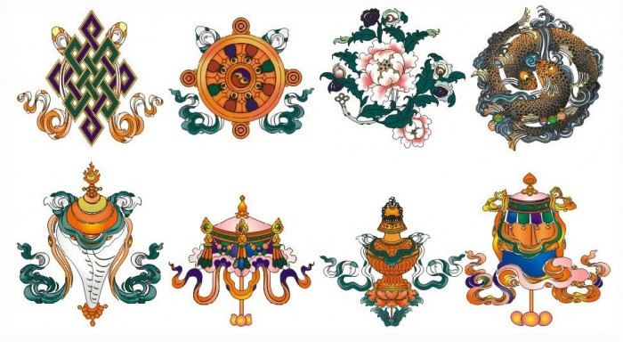 8 symbols in tibetan buddhism