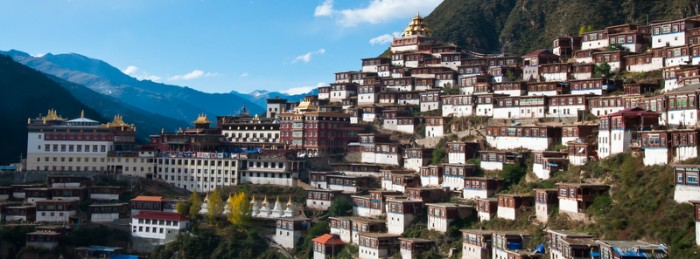 Baiyu si in Sichuan