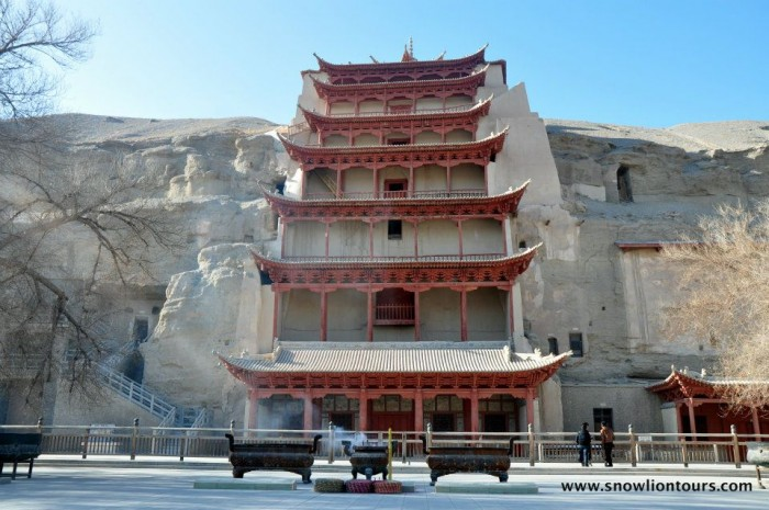 Mogao caves in Dunhuang tour