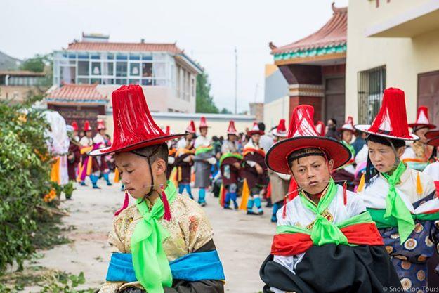 Tongren Shaman festival