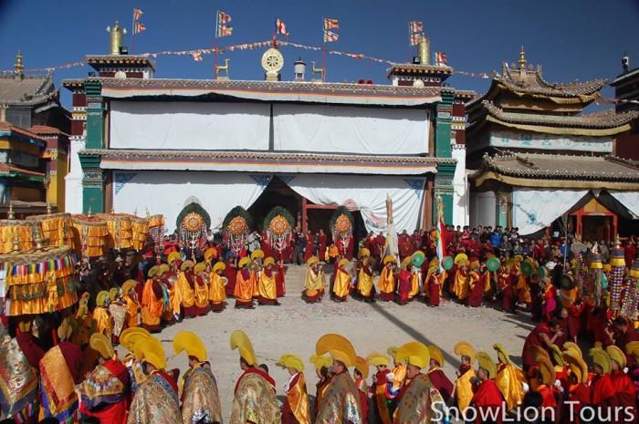 Tongren festival Rebkong molam festival