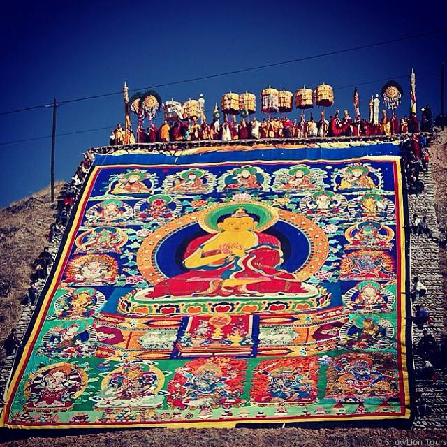 Amdo Rebkong Molam Festival in Tibet
