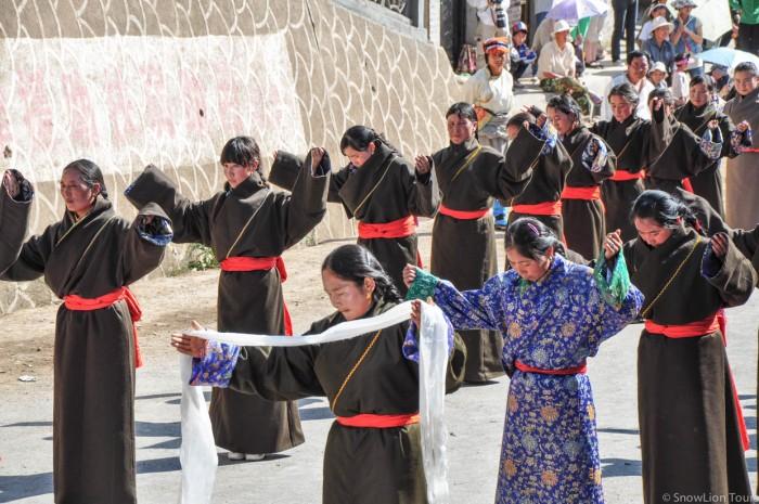 Rebkong Shaman Festival tour