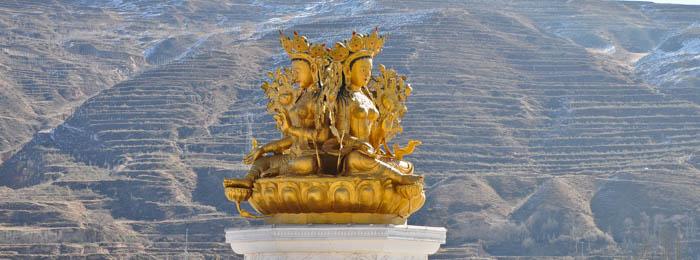 Rongwu Monastery Tara statue