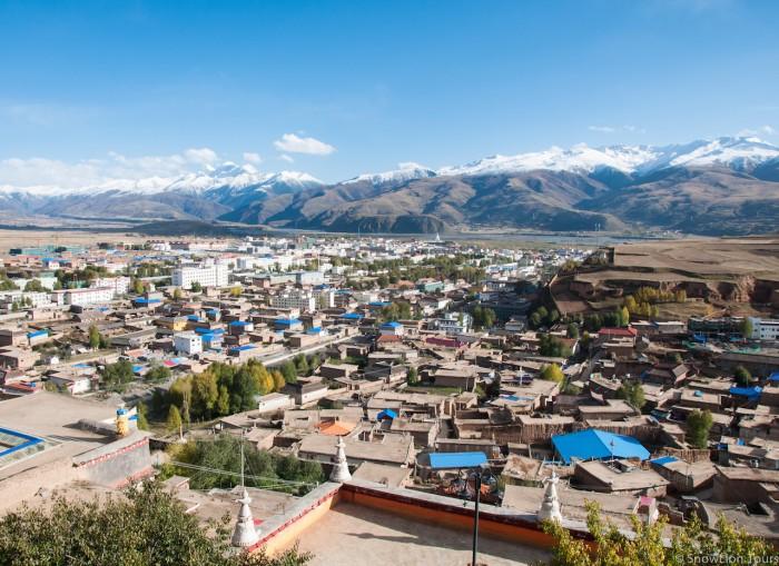 Ganze in Kham, Sichuan