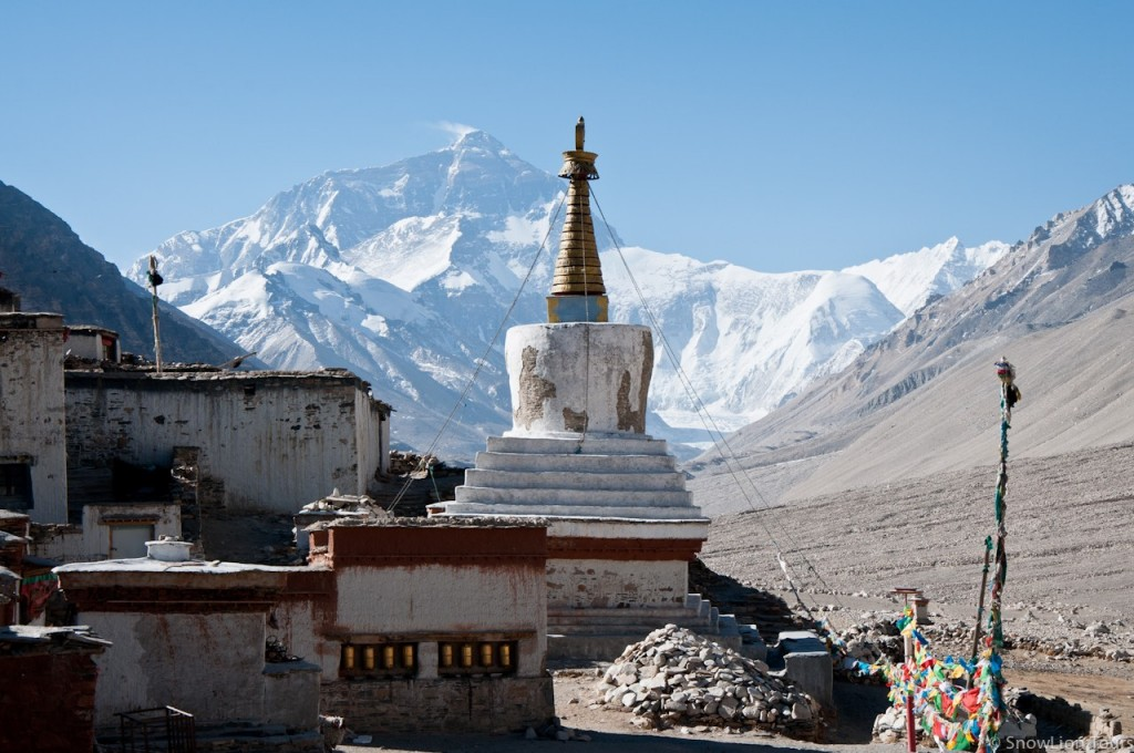 Everest Base Camp and Stupa