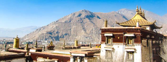 Tibet's monastery tour