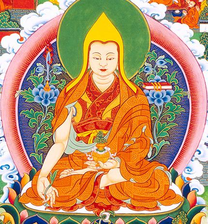 Lama Tsongkhapa, tours to Tibet