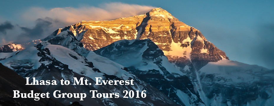 Lhasa to Everest Budget Group Tours 2016