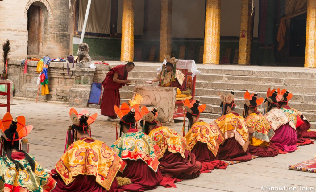 First offering festival in Tibet