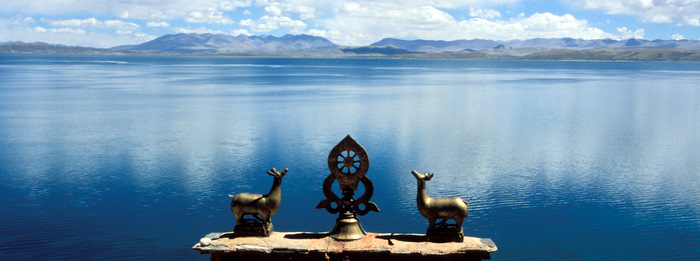 Chiu Monastery at Lake Manasarovar