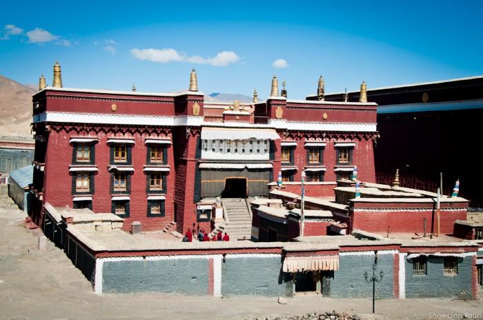 Sakya Monastery in Shigatse