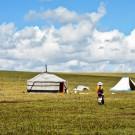 Tibetan Nomads and Tibetan Grassland