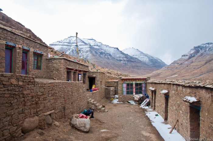 Zutulpuk monastery on the 2nd day of Kailash kora
