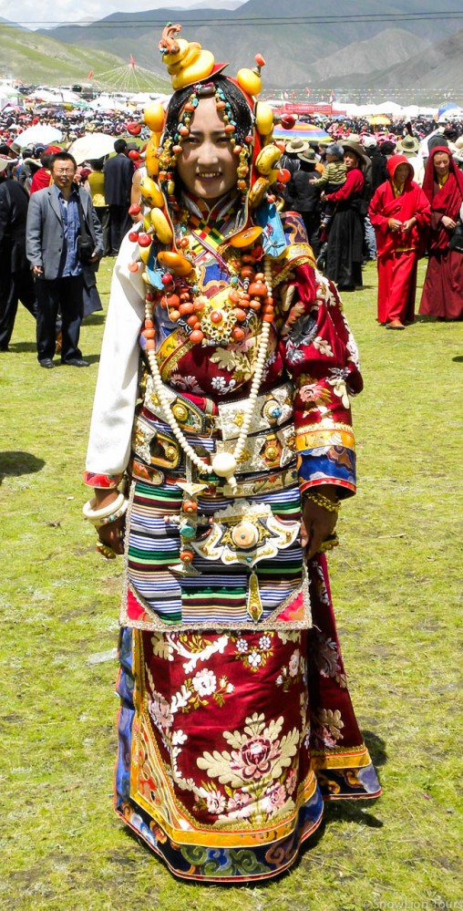 Khampa girl from Nangchen