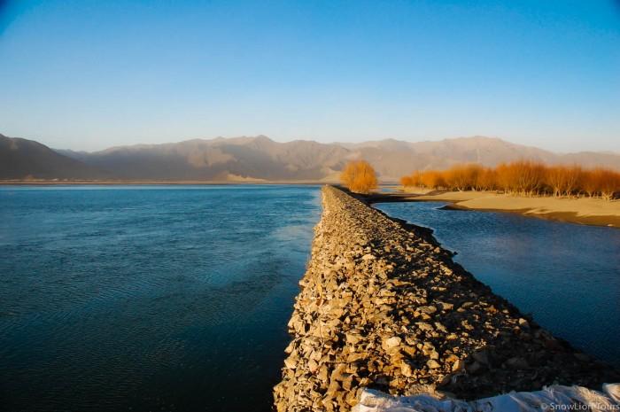 Yurlung Tsangpo river