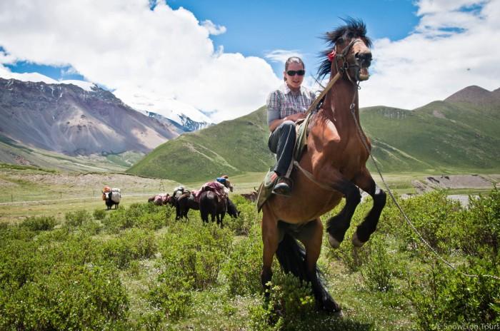 Horse Back trek around Mt.Amnye Machen