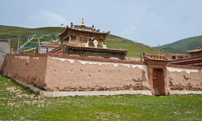 Old Monastery in Xiatawu