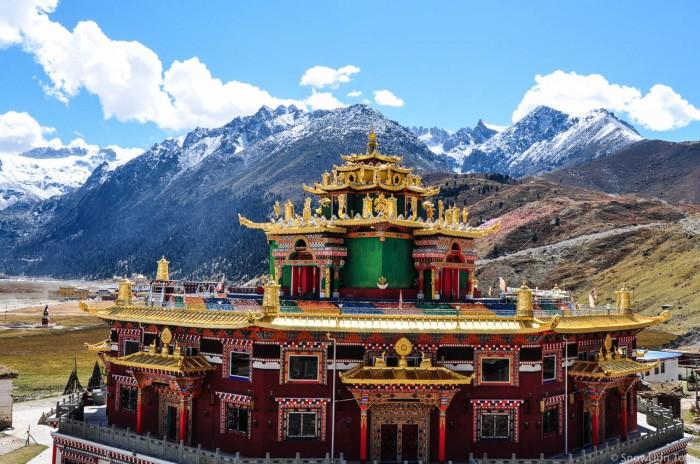 Dzochen temple