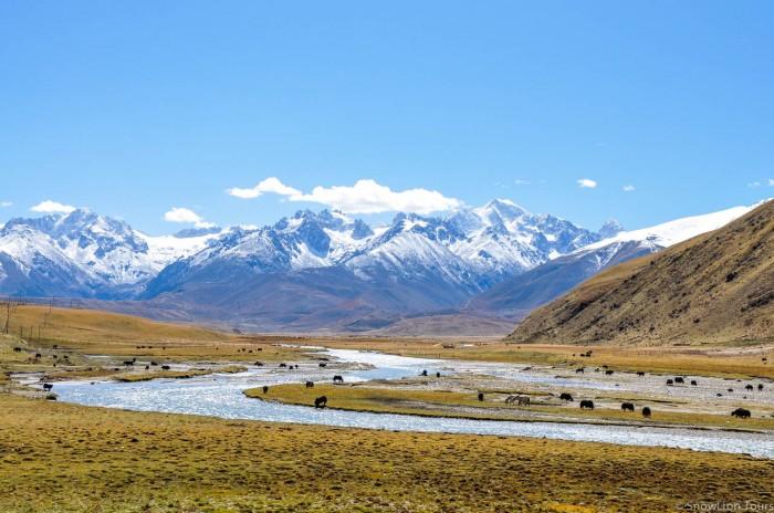 Dzochen valley in Kham