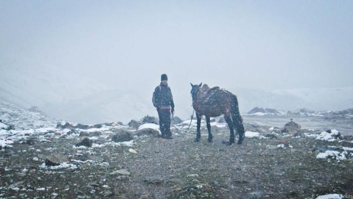 Mt.Amnye Machen horse back trek