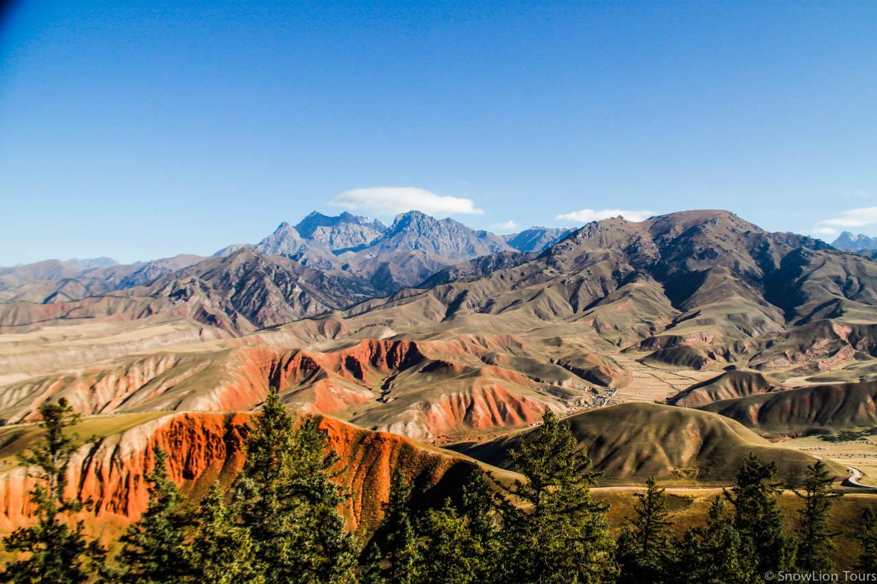 Danak Gompa in Nangchen, Yushu
