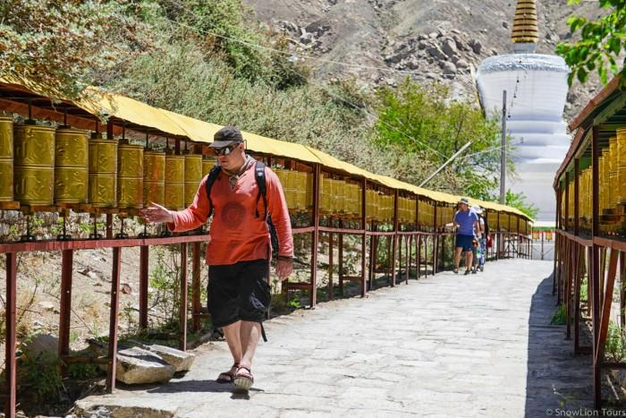Drepung linkor in Lhasa