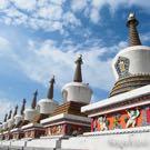 Xining kumbum Monastery 8 stupa