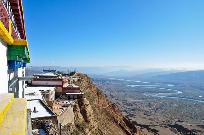 Shachung Monastery in qinghai