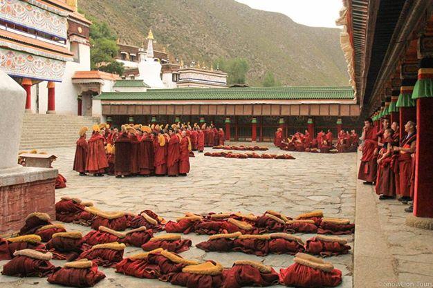 Labrang Monastery Monks at Debate