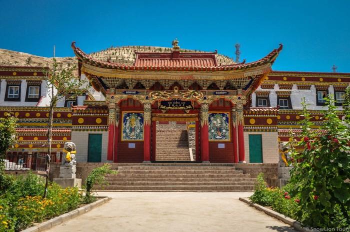 Monastery Gate in Rebkong