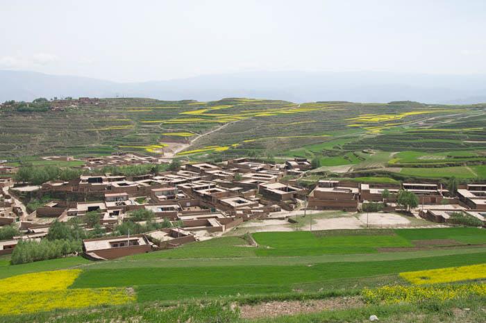 village nearby Tashikyi_