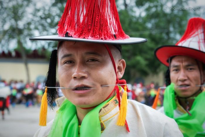 Shaman festival in Rebkong