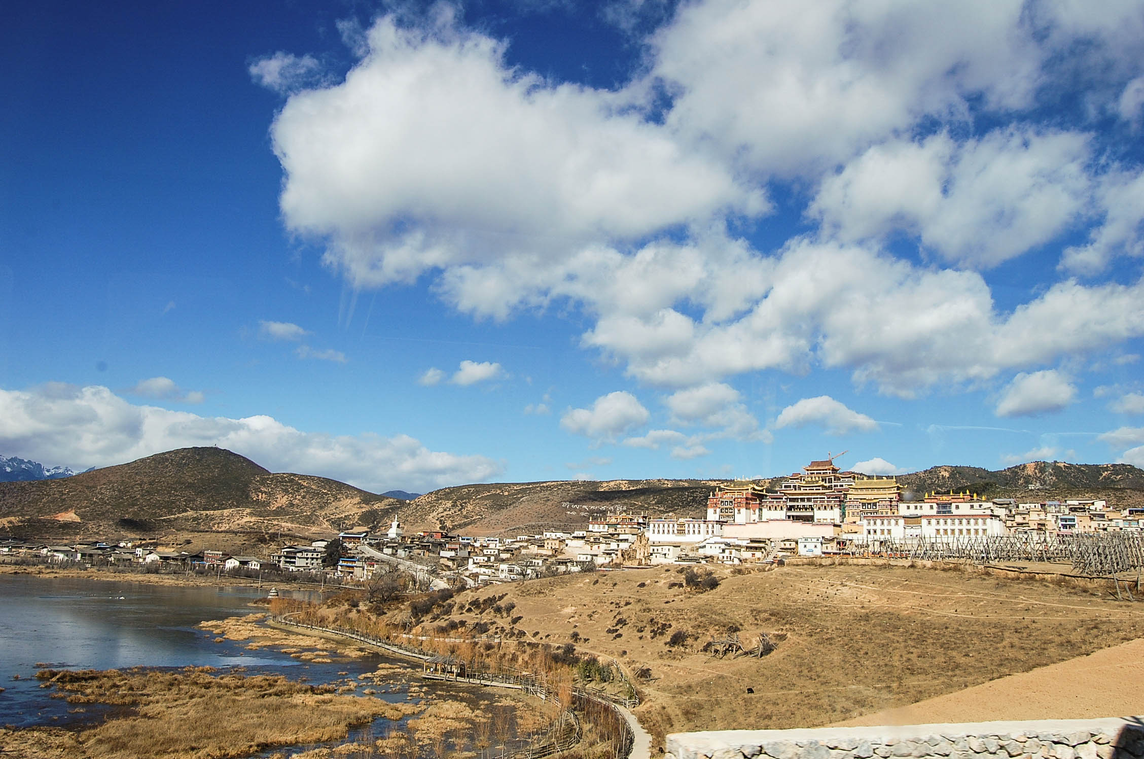 Shangri - la to Lhasa overland route