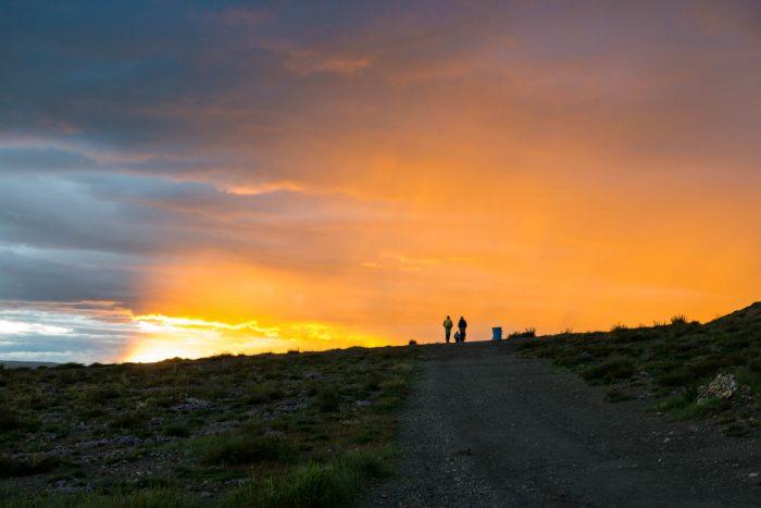 Sunset on Mt. Kailash trek