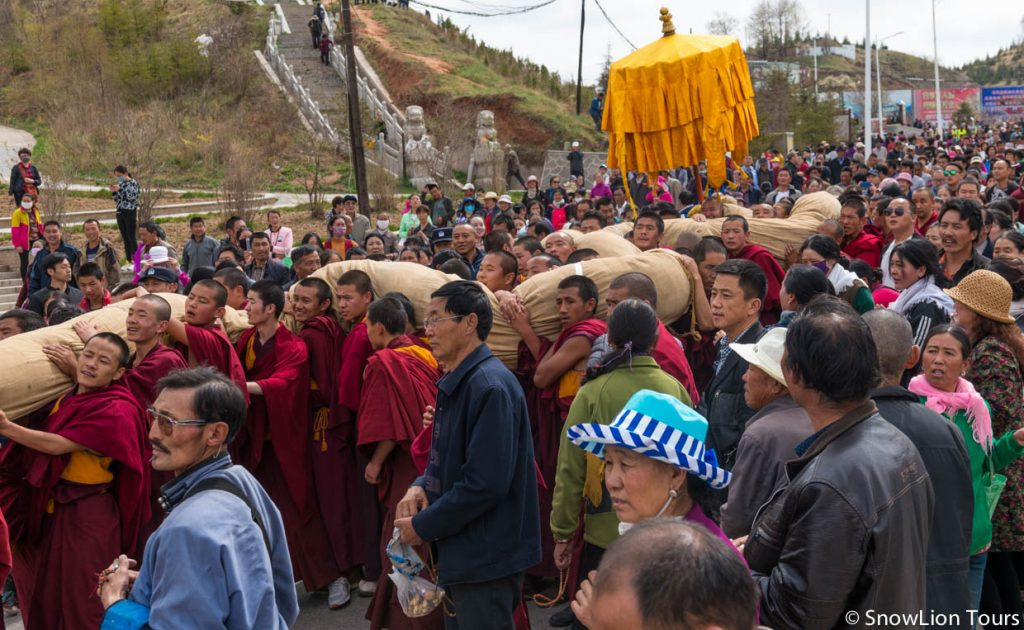 Qingha Tibet Festival - Qinghai Travel